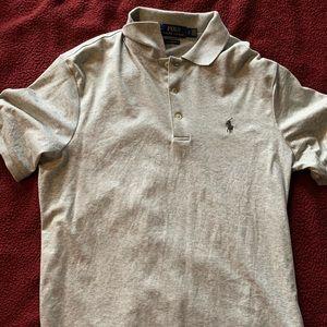Ralph Lauren Grey Polo - Mens Size Small